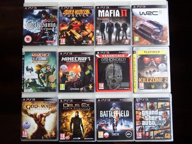 PS3 Minecraft PL WRC 5 Mafia 2 GTA 5 Castlevania Battlefield NAJLEPSZE