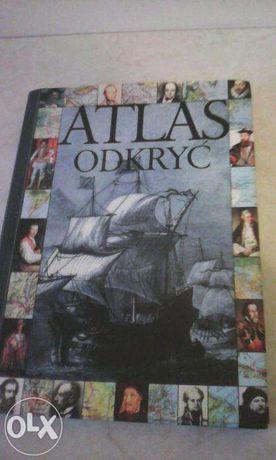 "książka -album ""Atlas odkryć"""