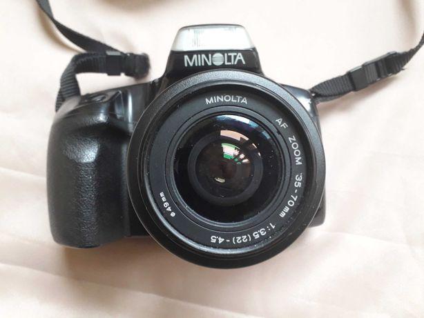 aparat Minolta Dynax 300si z obiektywem 35-70mm