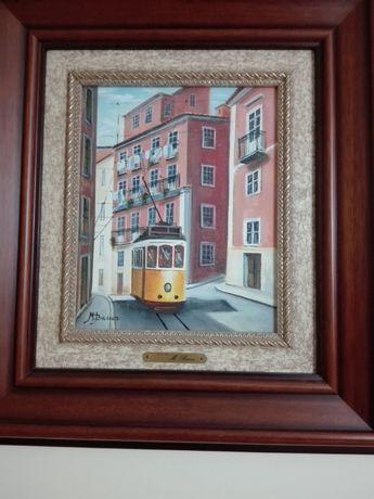 Quadro do pintor Carlos M. Barros