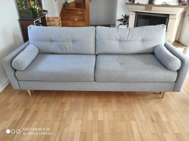 Sofa/kanapa rozkładana w stylu skandynawskim