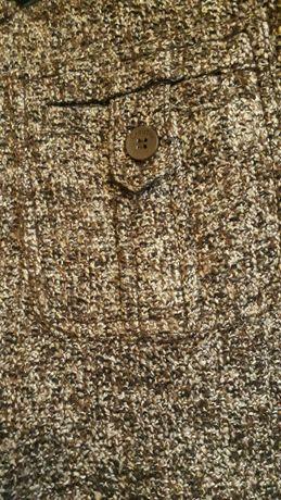 Szerokie spodnie damskie typu cygaretki
