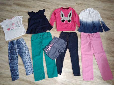 Ubrania dziewczęce 116