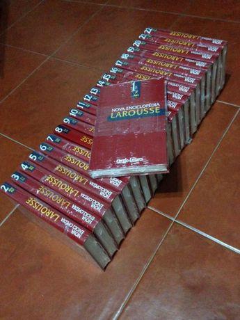 Nova Enciclopédia Larousse - 22 Volumes NOVOS e EMBALADOS