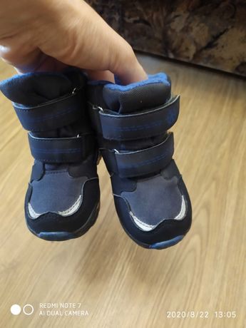 Ботинки,термоботинки на мальчика