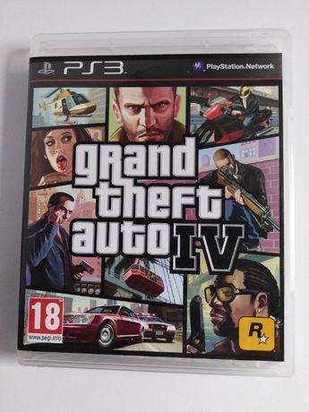 GTA IV + mapa - PS3 - tania wysyłka