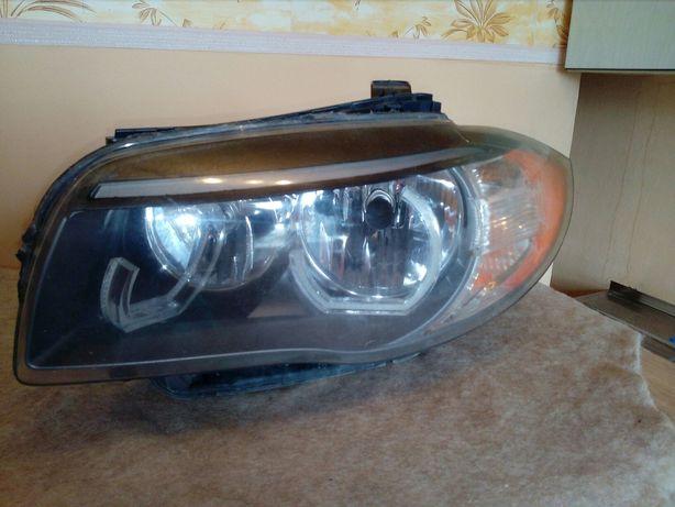 Фары БМВ Е 82,87,88 под галогенные лампы.