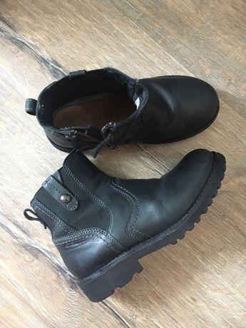 Geox демисезонные ботинки сапоги 34 размер Кожа очень крутые