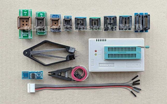 Программатор XGecu TL866II (MiniPro) и адаптеры / NAND08 TSOP48 SOP44