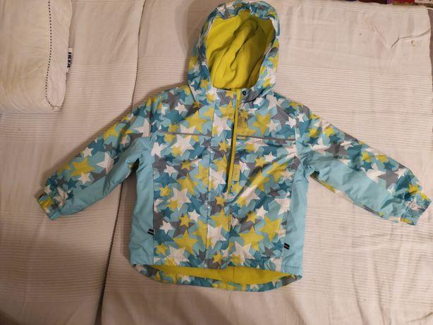 Używana kurtka zimowa z pasem śnieżnym rozmiar 98/104  Lupilu