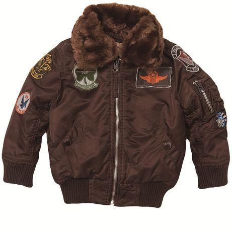 Куртка зимняя Alpha Industries MAVERICK JACKET Y