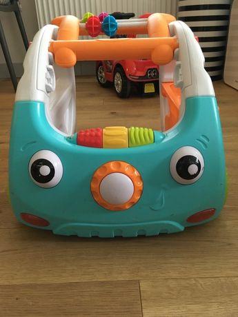 Sensoryczny jeździk pchacz samochodzik B-Kids Discovery