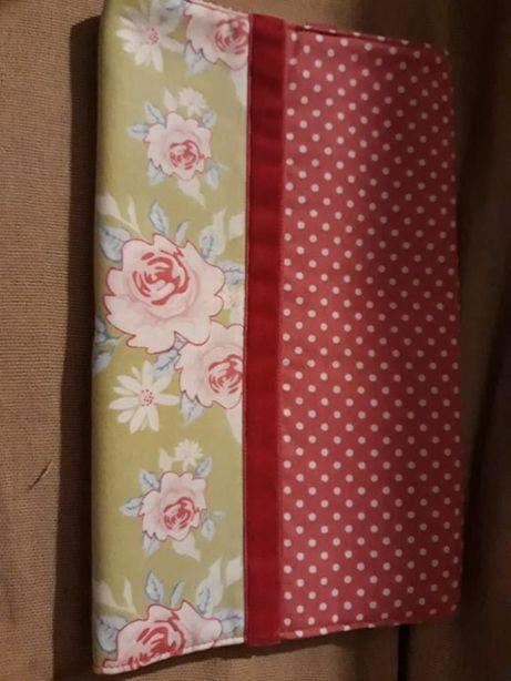 Capa de livros com separador, em tecido, nova (unidade)