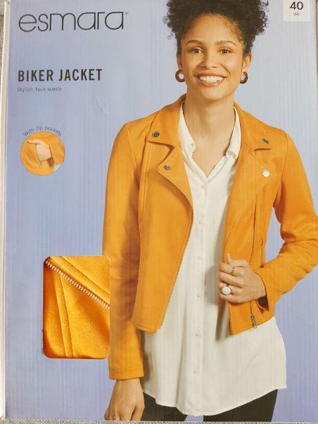 (NOWA) Kurtka Ramoneska biker jacket Esmara roz.40