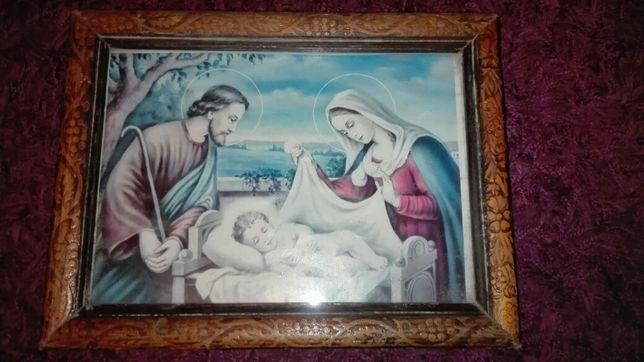 Antyk,Święta Rodzina,piękny obraz