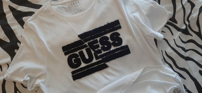 Guess oryginalna meska Nowa koszulka M , sliczna