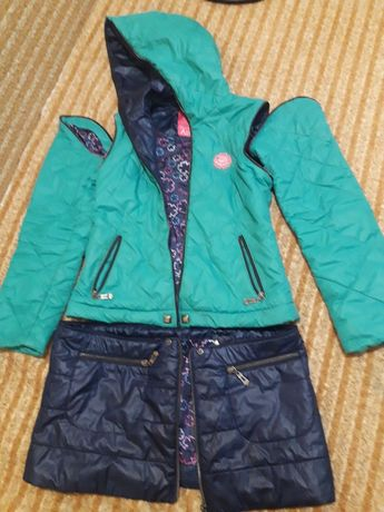 Курточка для дівчинки трансформер