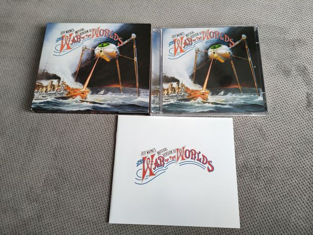 CD Jeff Wayne's Musical Version of the War of the War of the Worlds