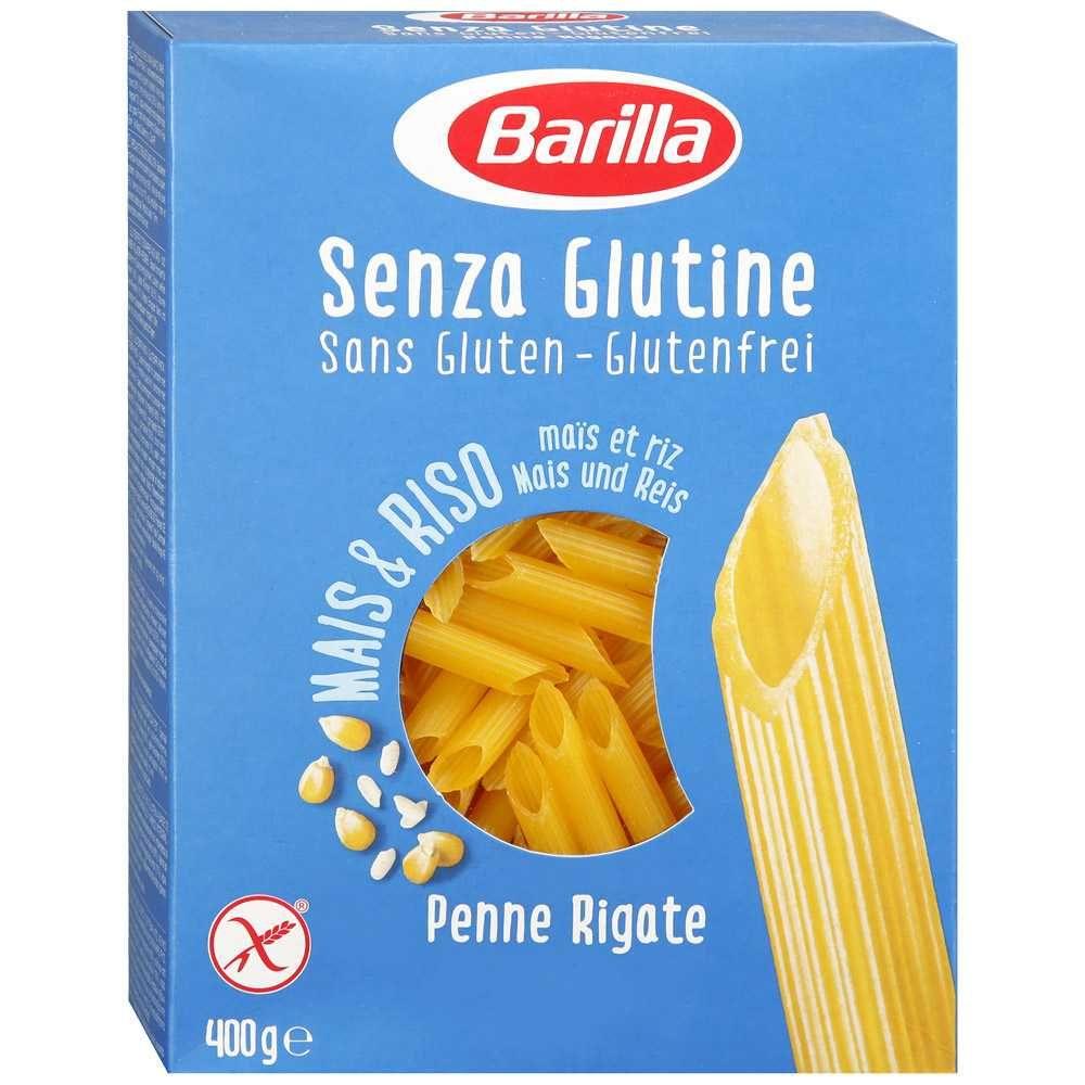 безглютенові Barilla Senza Glutine Penne Rigate 400 г