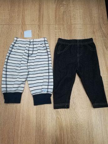 Ubranka dla chłopca, rozmiar 6-9 m-cy, 1 szt. spodnie/leginsy