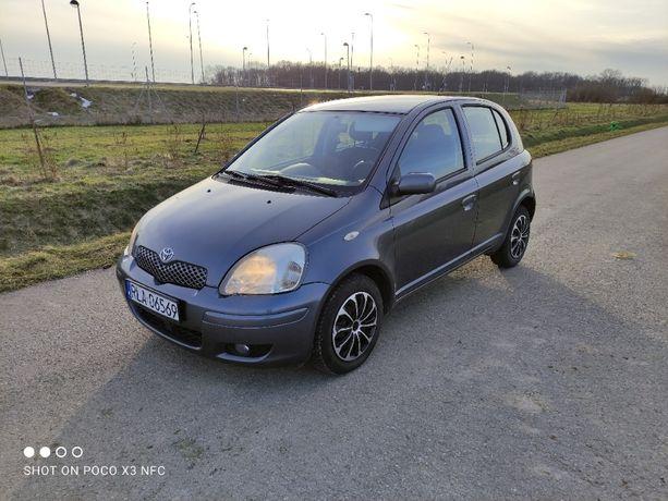 Toyota Yaris 1.3 Benzyna 2005r 168tys. 5 drzwi KLIMA el. szyby