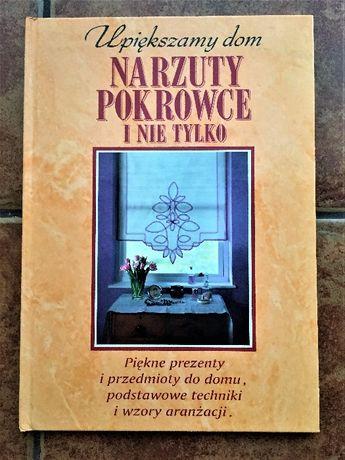 Narzuty,pokrowce-upiększanie domu- Książka jak NOWA