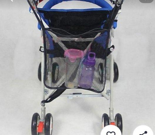 Органайзер на коляску,сеточка для игрушек.