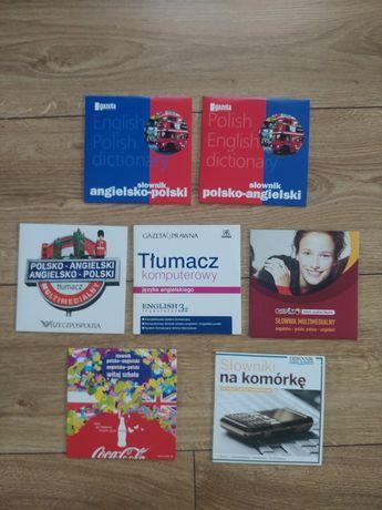 Slowniki komputerowe angielsko - polskie