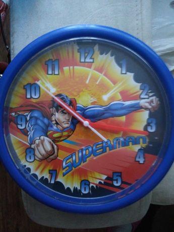 Zegar ścienny Superman