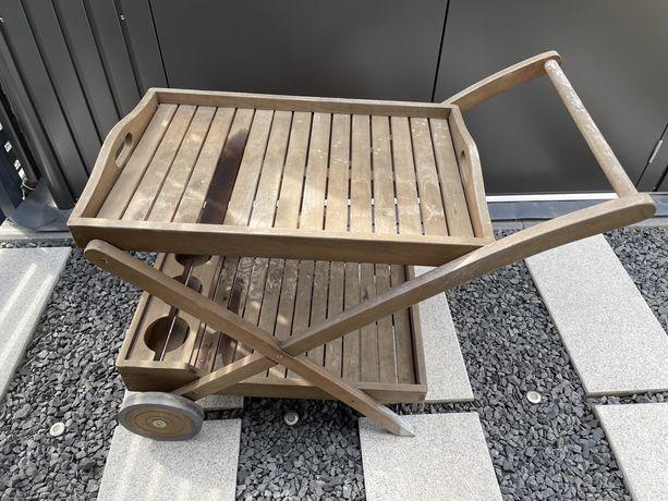 Wózek barowy, stolik taca ogrodowy