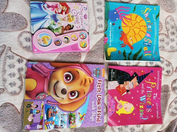 Книги Англійська мова. Для дітей 3+, та  молодшого шкільного віку
