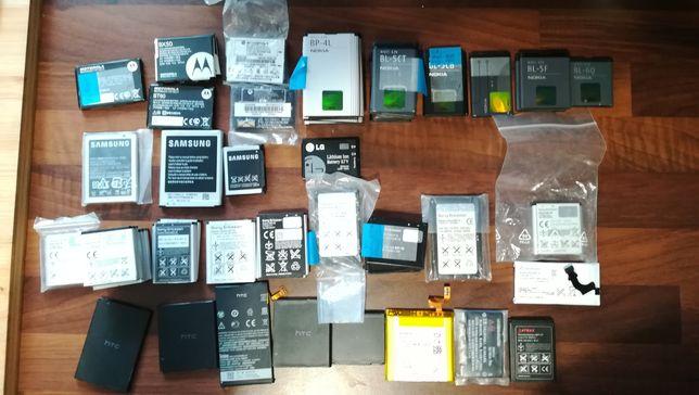 Baterie do telefonów komórkowych Nowe Nokia, Samsung, HTC