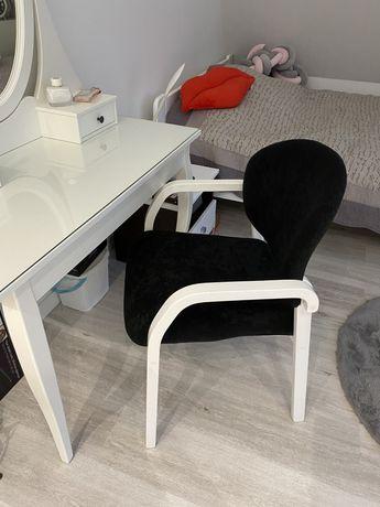Krzesło glamour tapicerowane