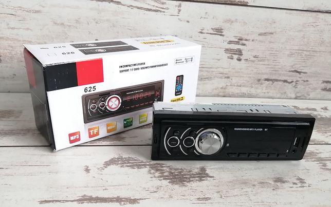 Radio samochodowe z obsługą bluetooth, mp3 i usb