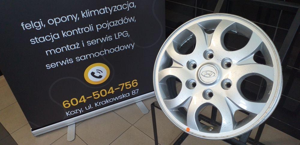 "Felgi Aluminiowe 16"" 6x139.7 6x140 Hyundai Nissan Kozy - image 1"