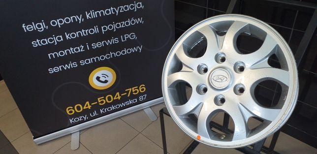 """Felgi Aluminiowe 16"""" 6x139.7 6x140 Hyundai Nissan"""