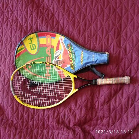 Продам детскую ракетку для большого тенниса б/у