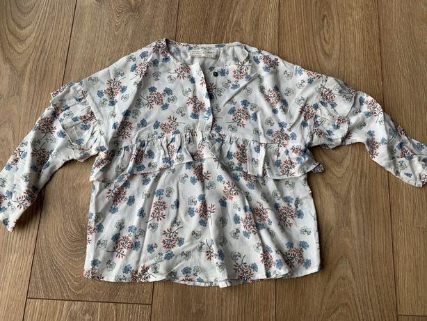 Zara bluzka 116 cm stan idealny