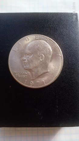 Liberty one dollar 1971