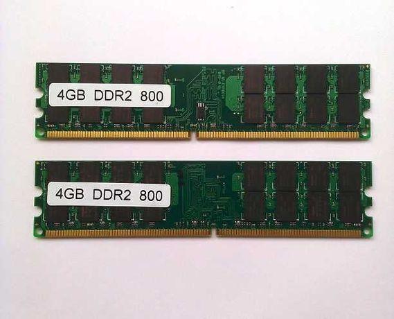 Оперативна пам'ять DDR2 800 МГц 8 Гб (2x4 Гб)