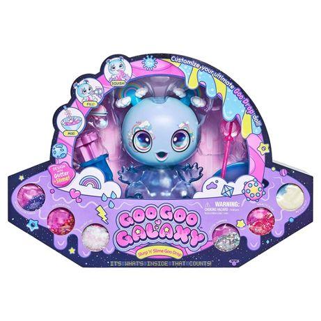 Игровой набор слаймы Goo Goo Galaxy Slime & Glitter Инопланетный малыш