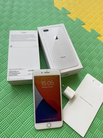 Iphone 8+ Plus Silver 256GB Neverlock США