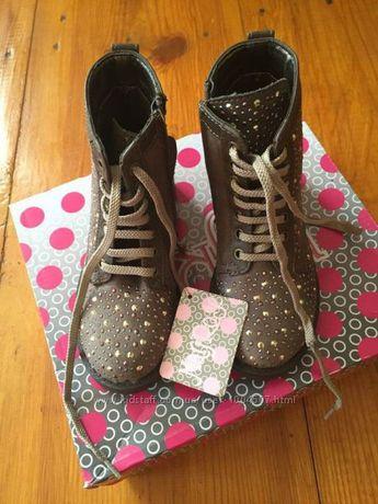 красивые стильные сапожки Италия 25-16, 5 см ботинки