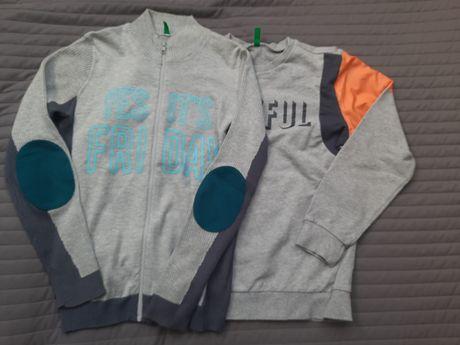 Bluza + sweterek Benetton