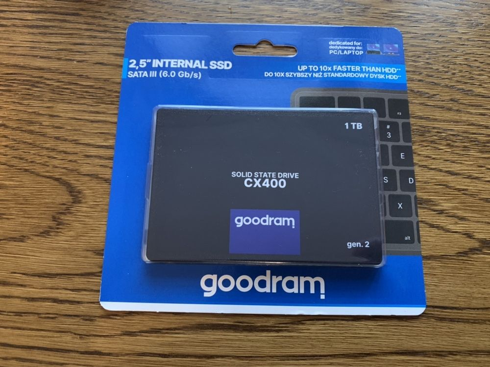 "Dysk SSD GoodRam CX400 1 TB 1000 GB 2.5"" SATA III"