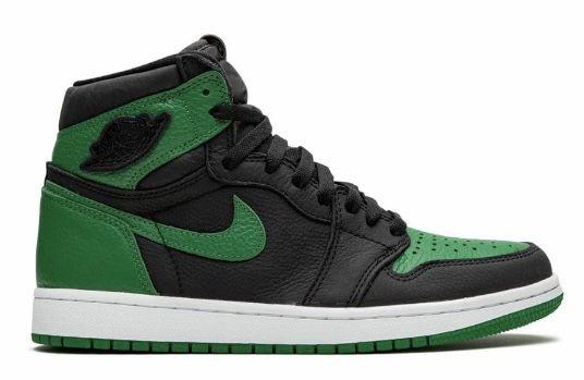 Кроссовки Jordan 1 Retro Pine green 41-46
