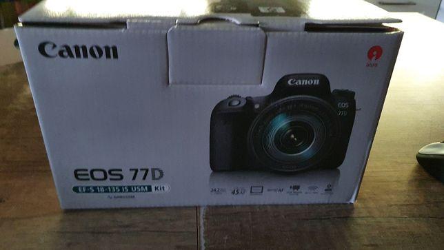 Canon EOS 77D EF-S 18-135 IS USM Kit - Rezerwacja!