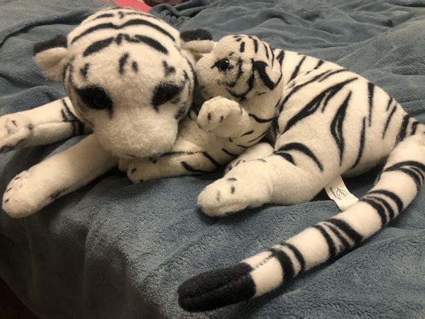 Мягкая игрушка 2 тигра ( мама и тигренок ). Большая игрушка