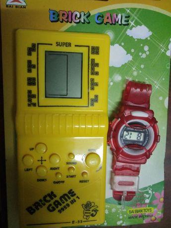 Тетрис и детские часы