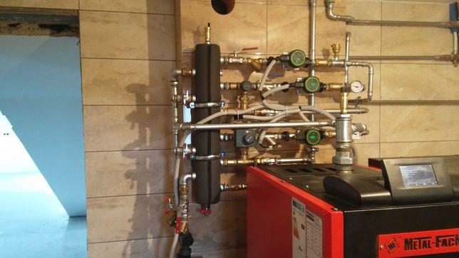 Usługi hydrauliczne. Wiercenie studni głebinowych.